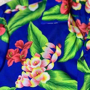 Hilo Hattie Shirts - VTG Hilo Hattie's Button Down Mens Hawaiian Shirt